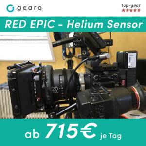 RED 4k 6k 8k EPIC Helium Sensor