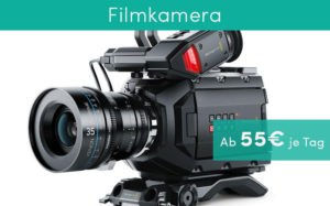 Filmkamera Zeitmanagement am Set