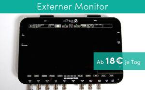Externer Monitor Ausrüstung Produktvideos